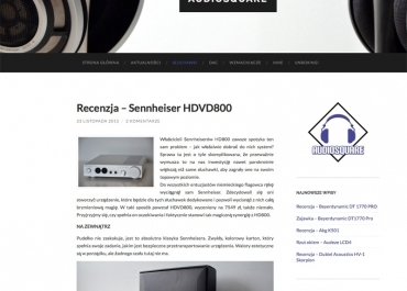Test HDVD 800 na portalu audiosquare.pl
